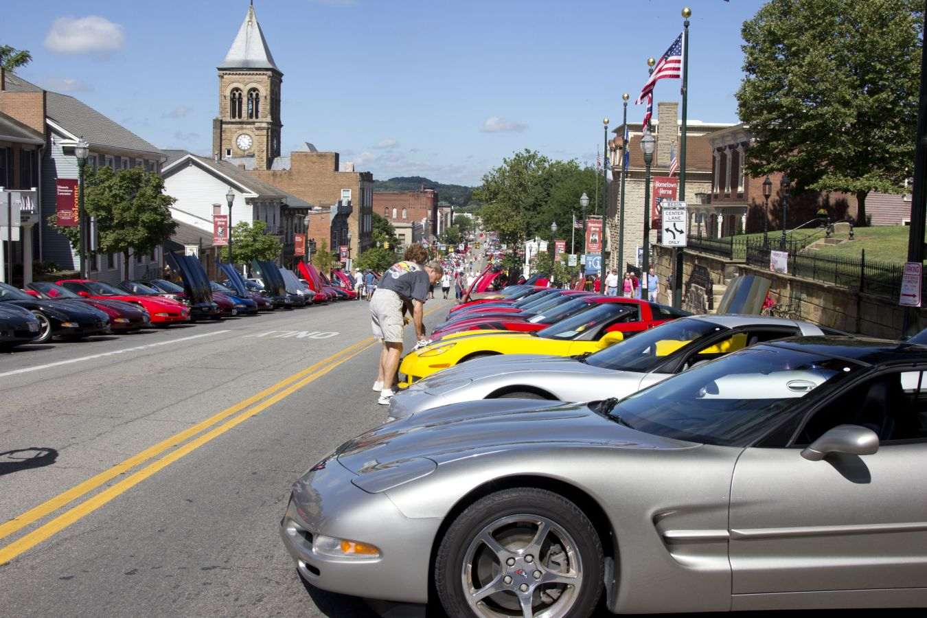 Ohio Corvette Club Alliance - Lancaster ohio car show 2018